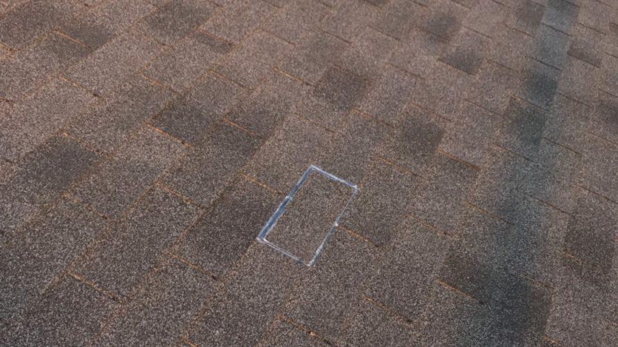 千葉市緑区にてシングル屋根の補修工事