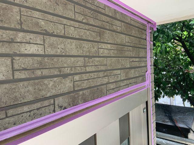 松戸市にて屋根塗装・外壁塗装 ~シーリング~