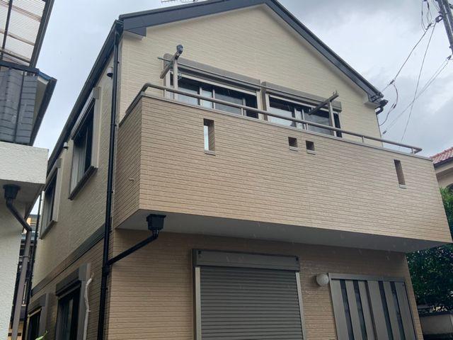 松戸市にて屋根塗装・外壁塗装 ~完工~
